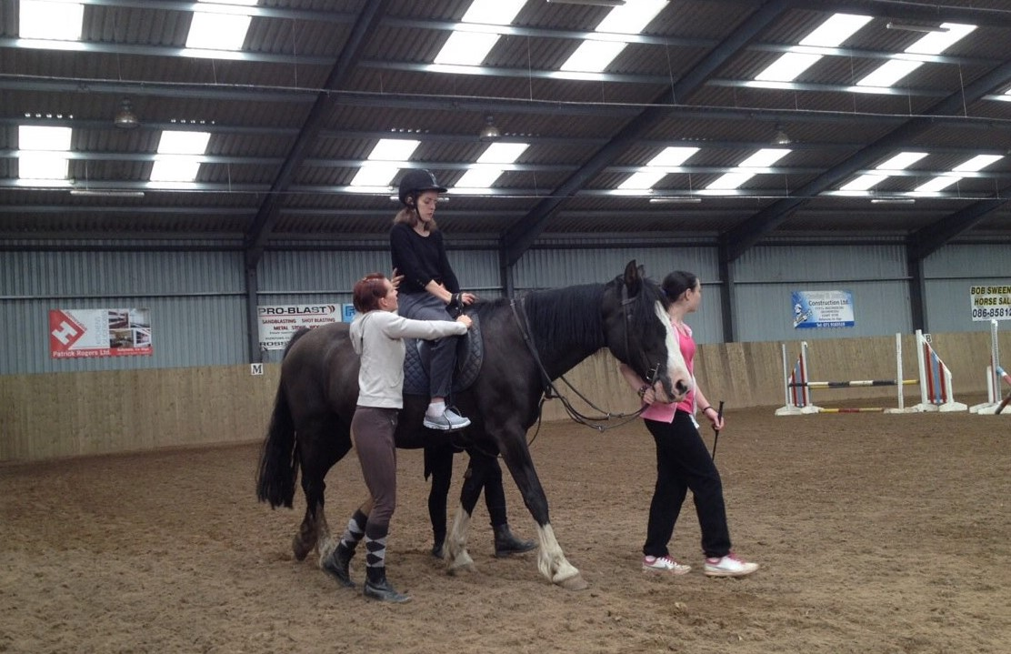 Adaptive Horse Riding for c6 Spinal cord Individual