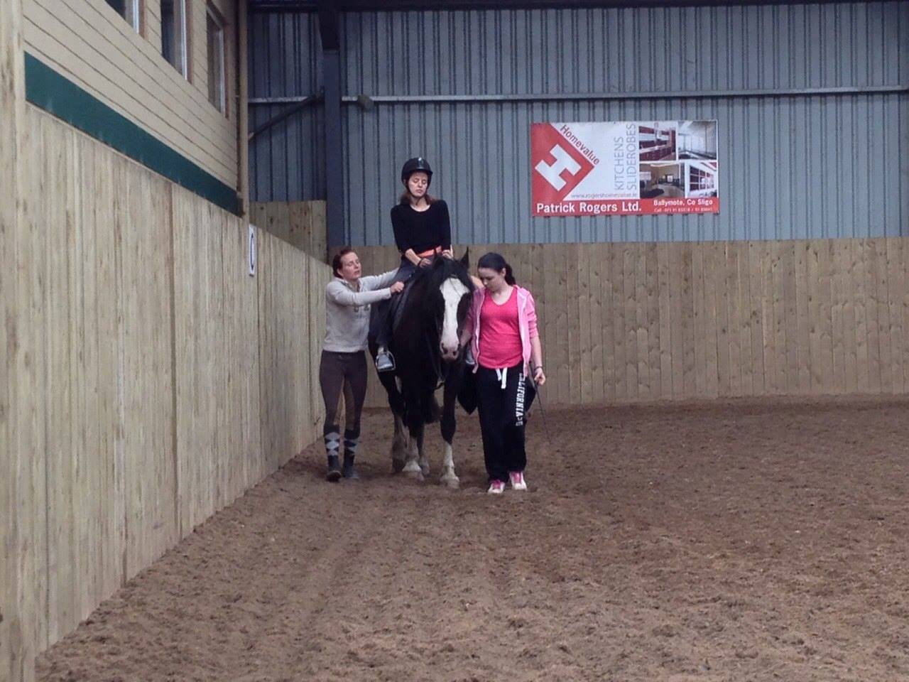 Assisted Horse riding