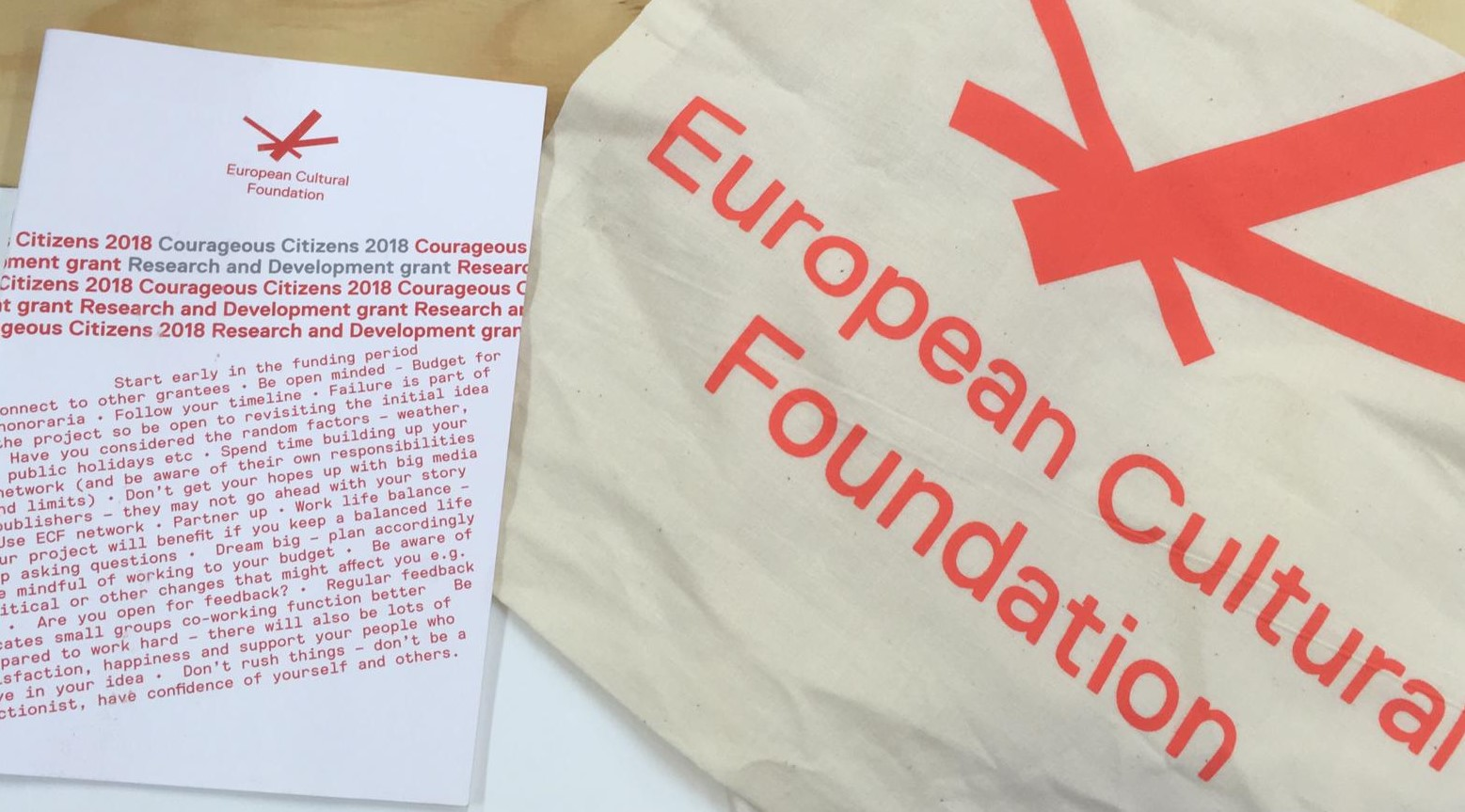 European Cultural Foundation workshop -Liverpool