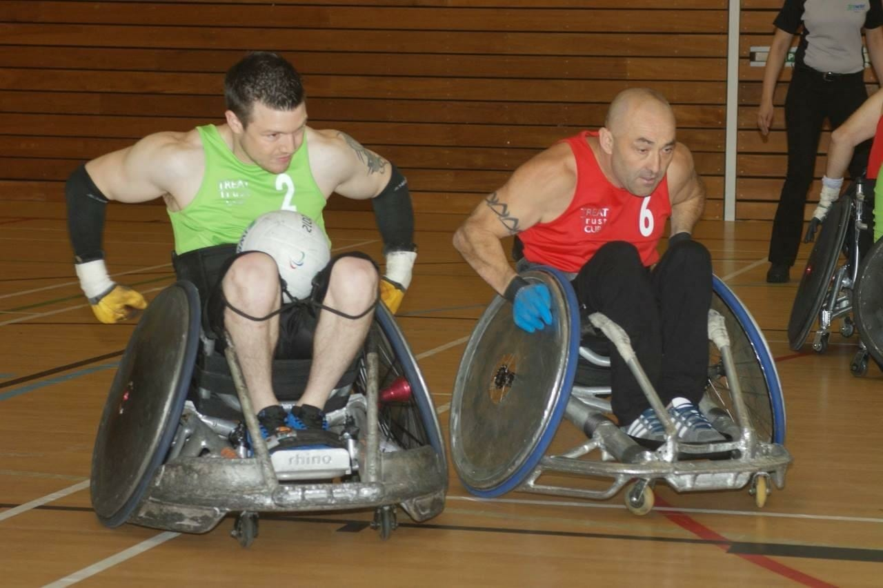 Jonny Mulhall- Wheelchair rugby player