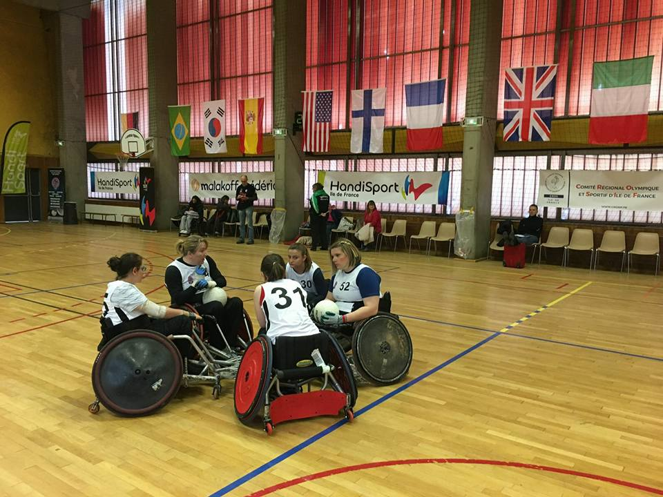 Amy Fitzpatrick- Quad rugby