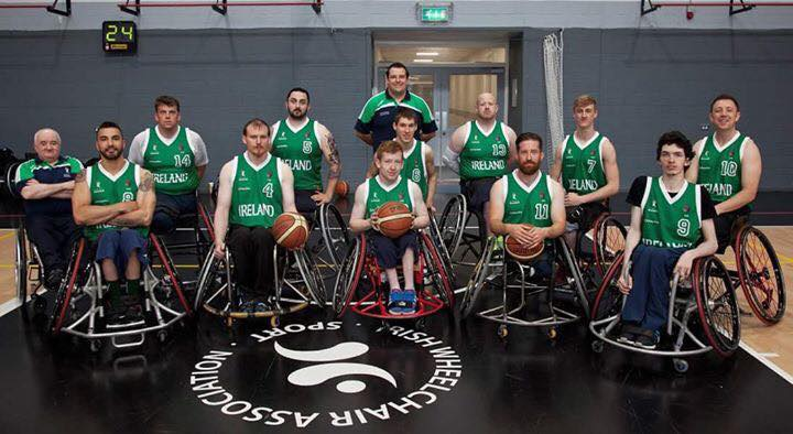 Keith Connelly- Wheelchair basketball