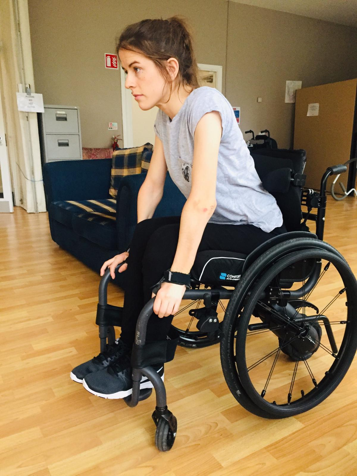Aria wheelchair