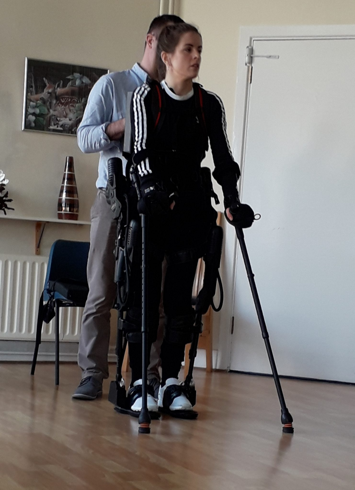 Exso Bionic Suit enable people with paralysis or lower limb weakness to walk